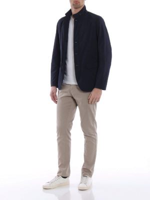 Herno: casual jackets online - Shimmering technical fabric jacket
