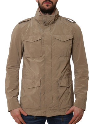 Herno: casual jackets online - Technical fabric field jacket