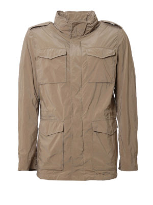 Herno: casual jackets - Technical fabric field jacket