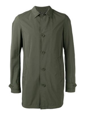 Herno: casual jackets - Waterproof matte nylon jacket