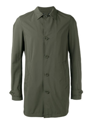 Herno: casual jackets - Waterproof matte nylon jacket