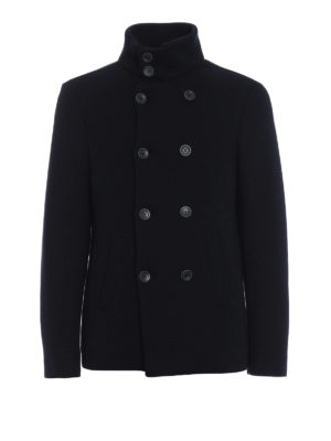 HERNO: giacche casual - Giacca cardigan in lana e nylon