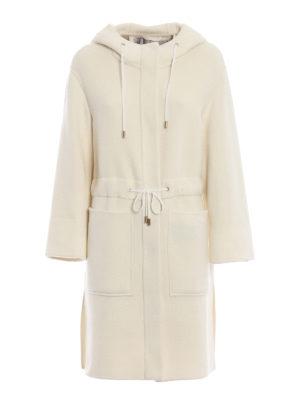 HERNO: cappotti al ginocchio - Cappotto in tessuto double di cashmere