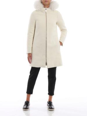 HERNO: cappotti imbottiti online - Cappotto City Glamour con pettorina