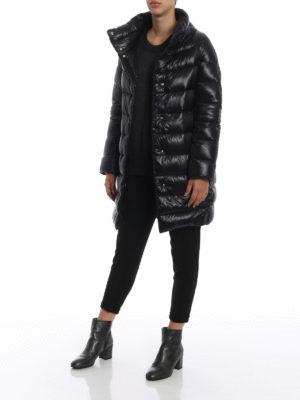 HERNO: cappotti imbottiti online - Piumino Dora ultraleggero nero