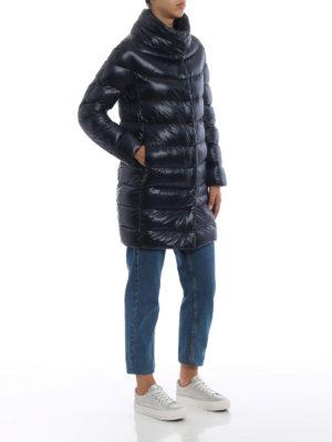 HERNO: cappotti imbottiti online - Piumino Dora ultraleggero blu