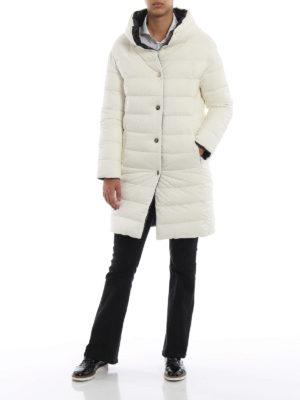 HERNO: cappotti imbottiti online - Piumino reversibile bianco e nero