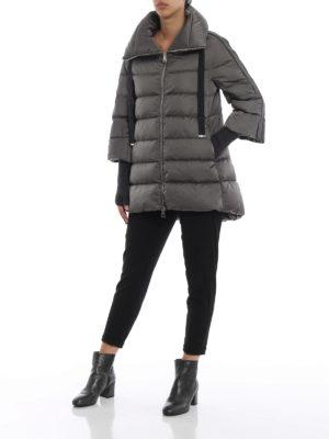 HERNO: cappotti imbottiti online - Piumino di raso tecnico resistente all'acqua