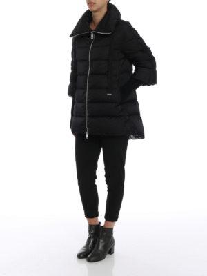 HERNO: cappotti imbottiti online - Piumino in raso tecnico resistente all'acqua