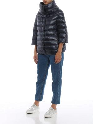HERNO: giacche imbottite online - Piumino Aminta in nylon blu