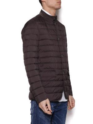 HERNO: giacche imbottite online - Giacca leggera imbottita marrone
