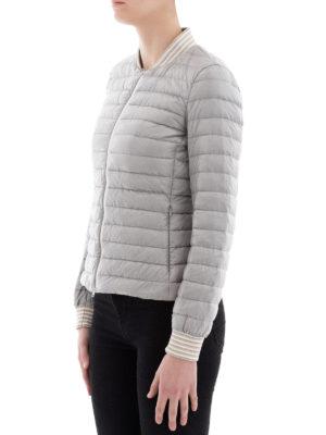 HERNO: giacche imbottite online - Bomber leggero imbottito grigio