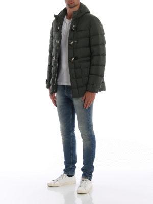 HERNO: giacche imbottite online - Piumino Il Montgomery in nylon spalmato