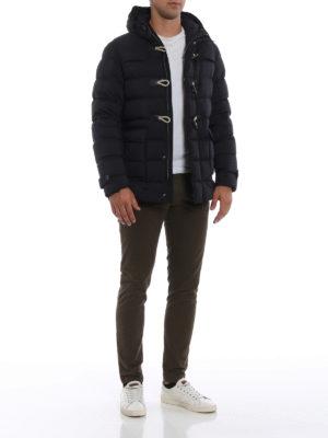 HERNO: giacche imbottite online - Il Montgomery blu imbottito e leggerissimo