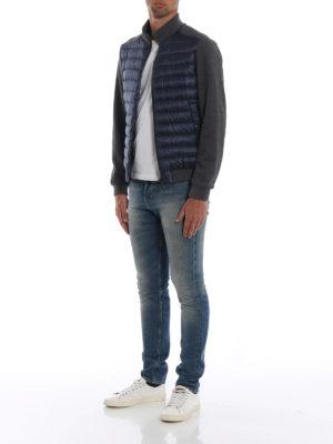 HERNO: giacche imbottite online - Piumino con maniche in jersey