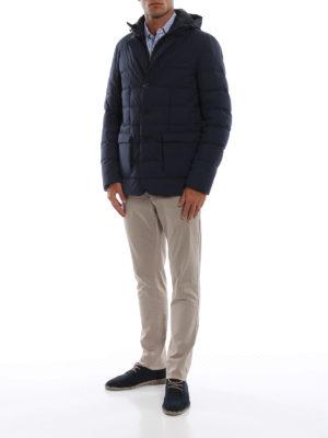 HERNO: giacche imbottite online - Piumino Laminar in Gore®Windstopper® blu
