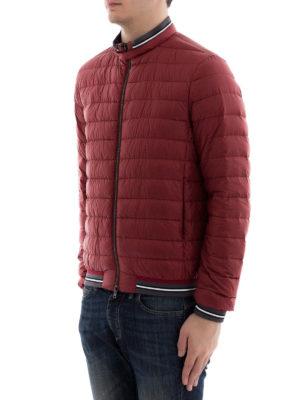 HERNO: giacche imbottite online - Bomber ultraleggero imbottito rosso
