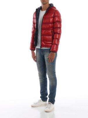 HERNO: giacche imbottite online - 7 Denari giacca imbottita reversibile  rossa