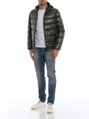 HERNO: giacche imbottite online - Piumino reversibile in nylon