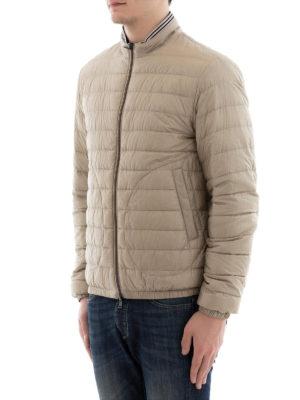 HERNO: giacche imbottite online - Piumino reversibile collo a righe