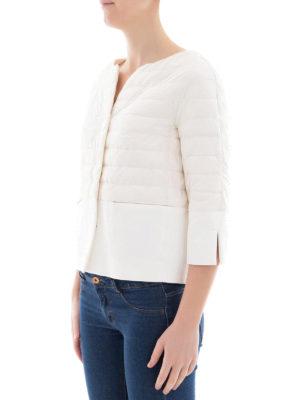HERNO: giacche imbottite online - Piumino bianco bon-ton impermeabile