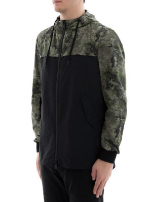 HERNO: parka online - Parka Action Painting camouflage