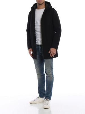 HERNO: cappotti corti online - Cappotto corto scuba impermeabile