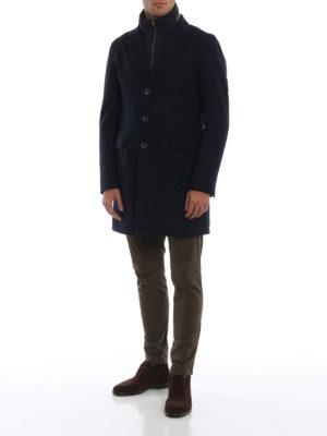 HERNO: cappotti corti online - Cappotto corto imbottito Tech
