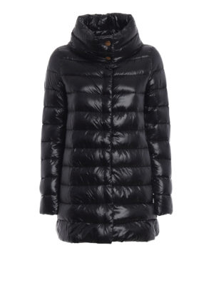 HERNO: cappotti imbottiti - Piumino Amelia ultraleggero nero
