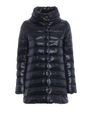 HERNO: cappotti imbottiti - Piumino Amelia ultraleggero blu