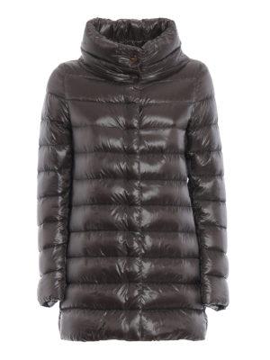 HERNO: cappotti imbottiti - Piumino Amelia ultraleggero grigio