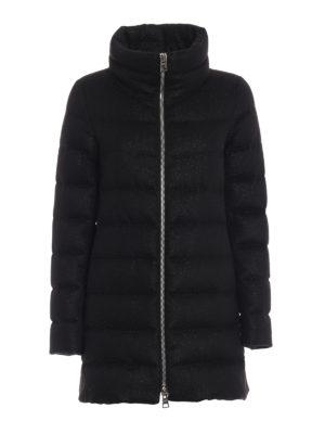 HERNO: cappotti imbottiti - Piumino in cashmere seta antigoccia