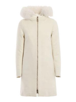 HERNO: cappotti imbottiti - Cappotto City Glamour con pettorina