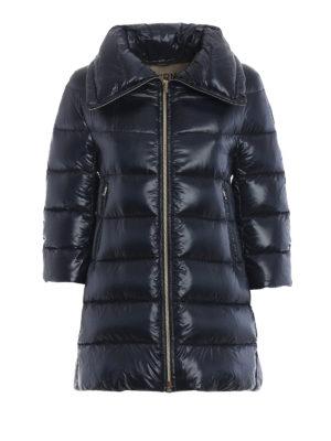 HERNO: cappotti imbottiti - Piumino Cleofe in nylon blu