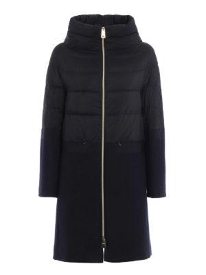 Herno: padded coats - Combo padded coat