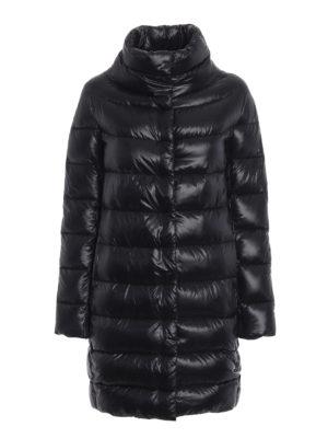 HERNO: cappotti imbottiti - Piumino Dora ultraleggero nero