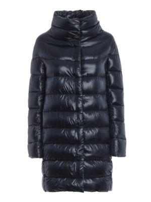 HERNO: cappotti imbottiti - Piumino Dora ultraleggero blu