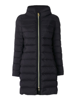 Herno: padded coats - Full zip fitted puffer coat