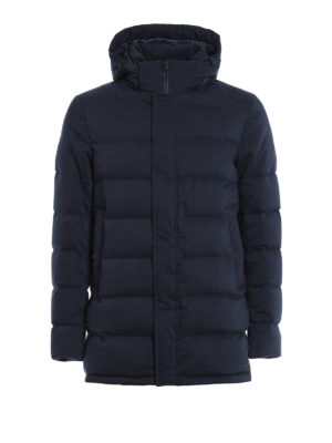 Herno: padded coats - Hooded padded coat