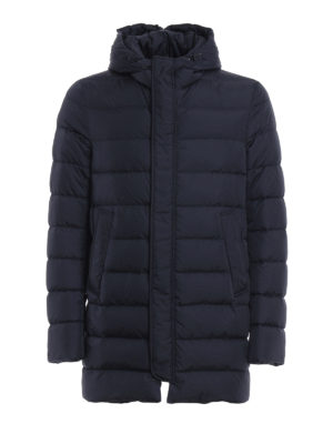 Herno: padded coats - Hooded short padded coat