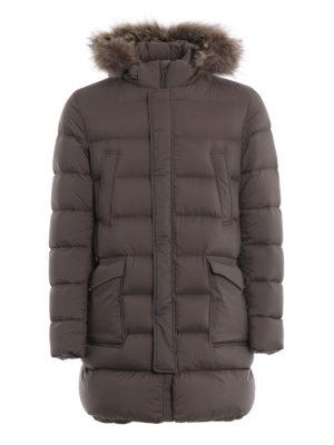 HERNO: cappotti imbottiti - Piumino Il Parka tortora