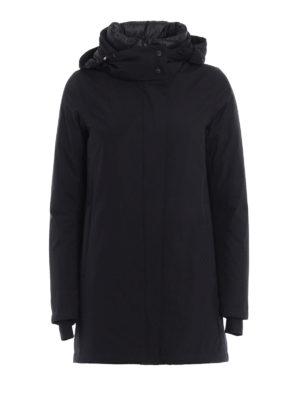 Herno: padded coats - Laminar double front parka