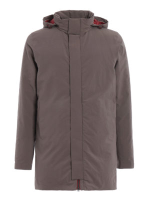 Herno: padded coats - Magma down padded short coat