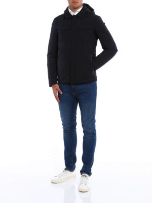 Herno: padded coats online - Laminar padded coat
