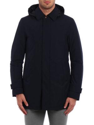 Herno: padded coats online - Laminar padded raincoat