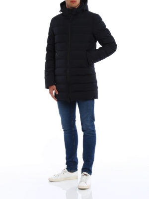 Herno: padded coats online - Laminar quilted padded coat