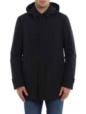 Herno: padded coats online - Laminar raincoat
