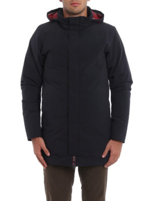 Herno: padded coats online - Magma down padded short coat