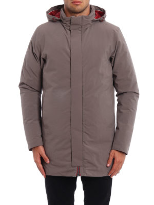 Herno: padded coats online - Magma down padded short coat