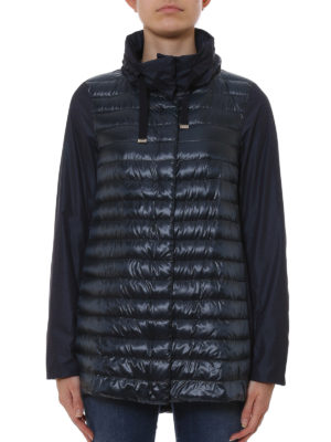 Herno: padded coats online - Padded front coat